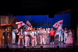 HMS Pinafore - Lighting design by ANDREW WILSON