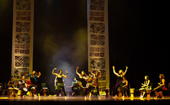 Rebels - Beating the Drum for Africa - Lighting design by Andrew Wilson